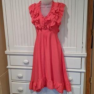 Antilia Femme Ruffle Sun Dress